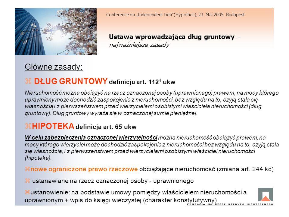 DŁUG GRUNTOWY definicja art. 1121 ukw