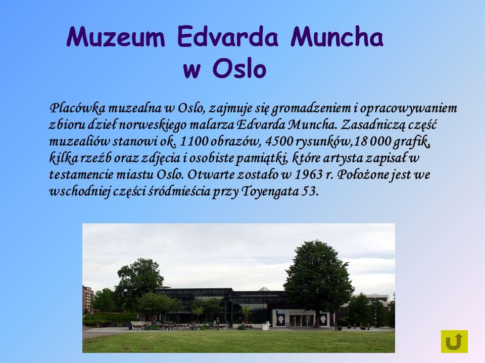 Muzeum Edvarda Muncha w Oslo