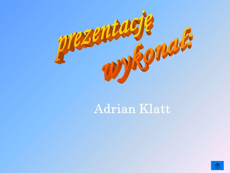 prezentację wykonał: Adrian Klatt