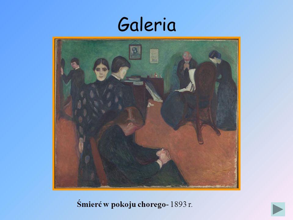 Galeria Śmierć w pokoju chorego- 1893 r.