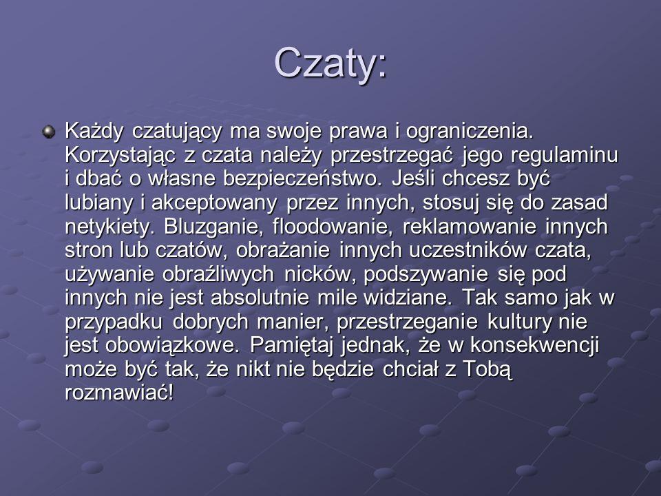 Czaty: