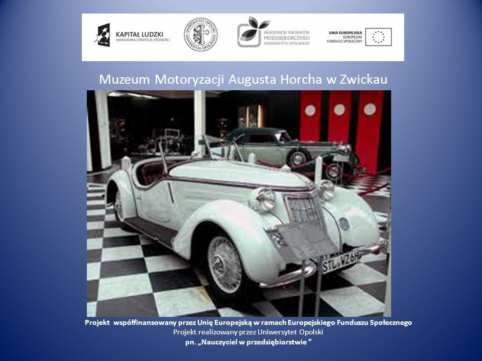Muzeum Motoryzacji Augusta Horcha w Zwickau