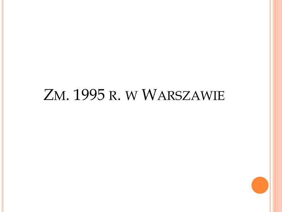Zm. 1995 r. w Warszawie