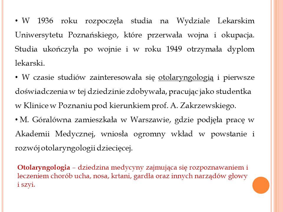 w Klinice w Poznaniu pod kierunkiem prof. A. Zakrzewskiego.
