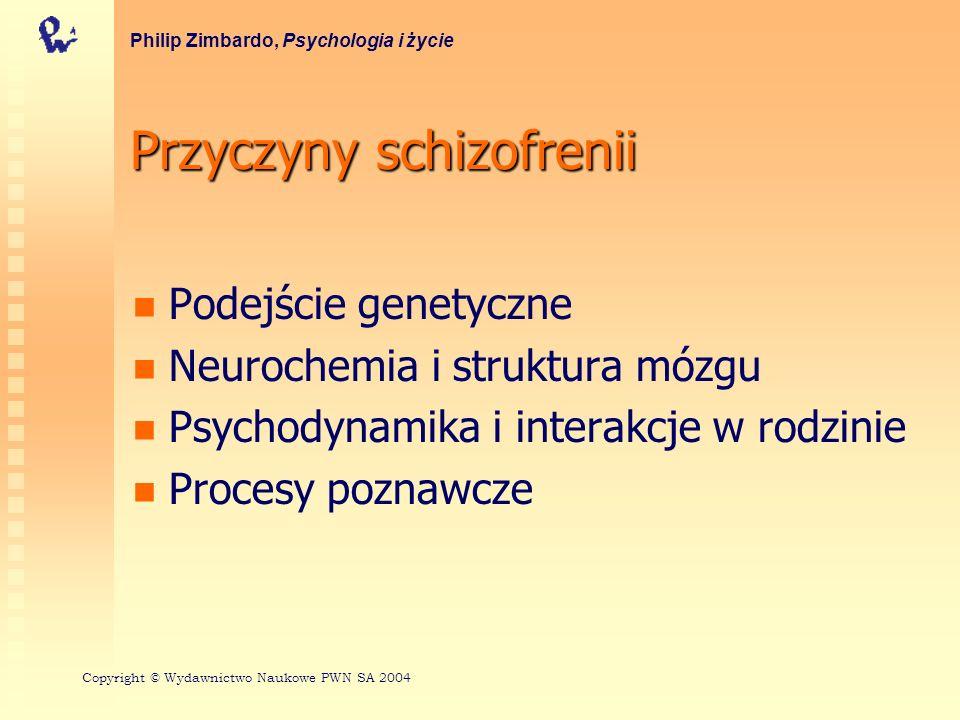 Przyczyny schizofrenii