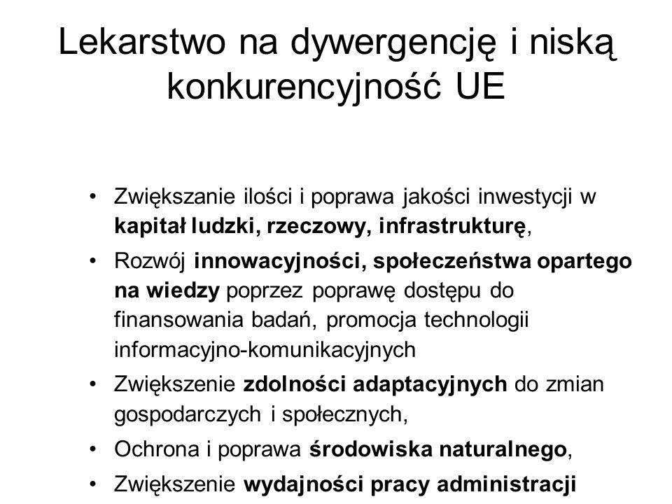 Lekarstwo na dywergencję i niską konkurencyjność UE