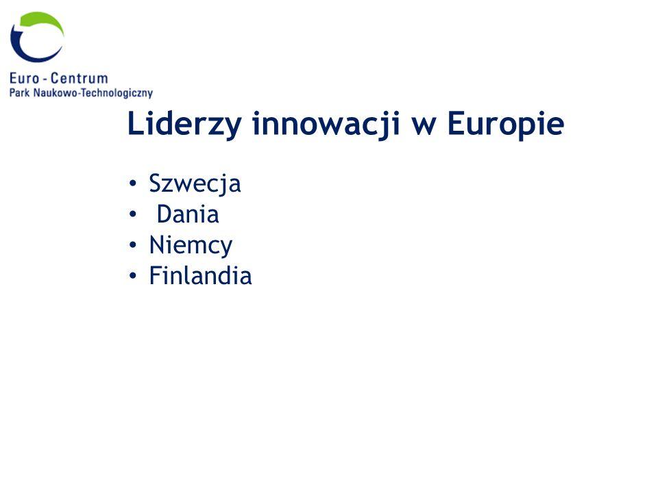 Liderzy innowacji w Europie