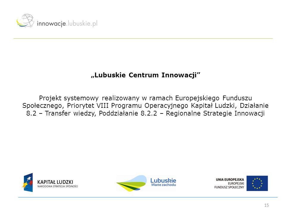 """""""Lubuskie Centrum Innowacji"""