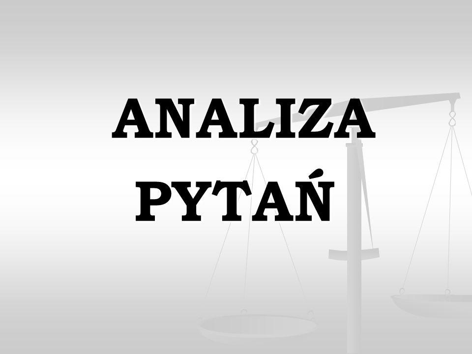 ANALIZA PYTAŃ 23