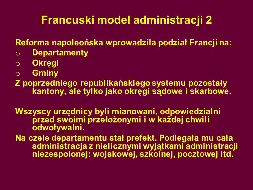 Francuski model administracji 2