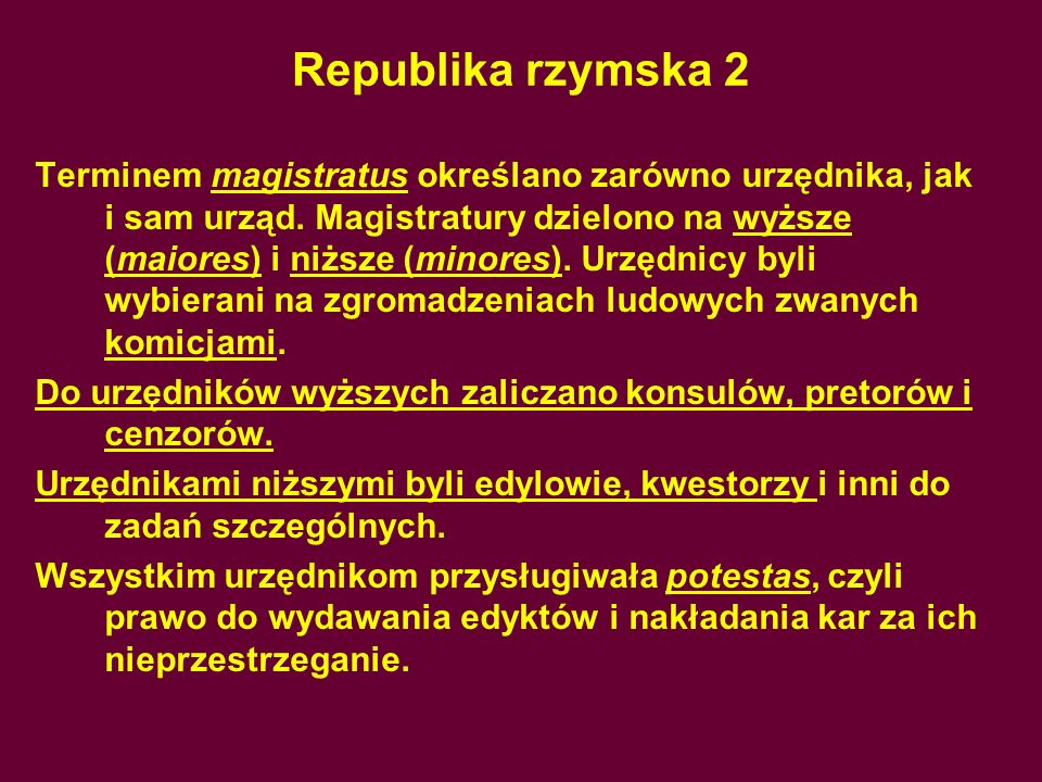 Republika rzymska 2