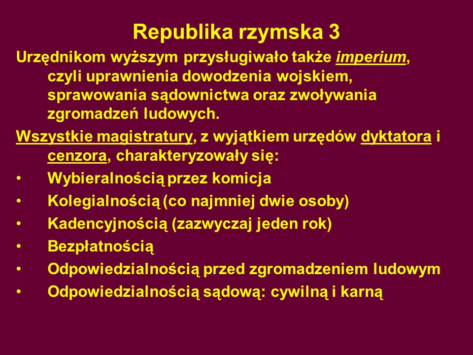 Republika rzymska 3