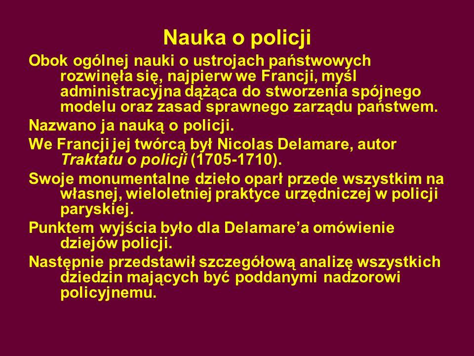 Nauka o policji