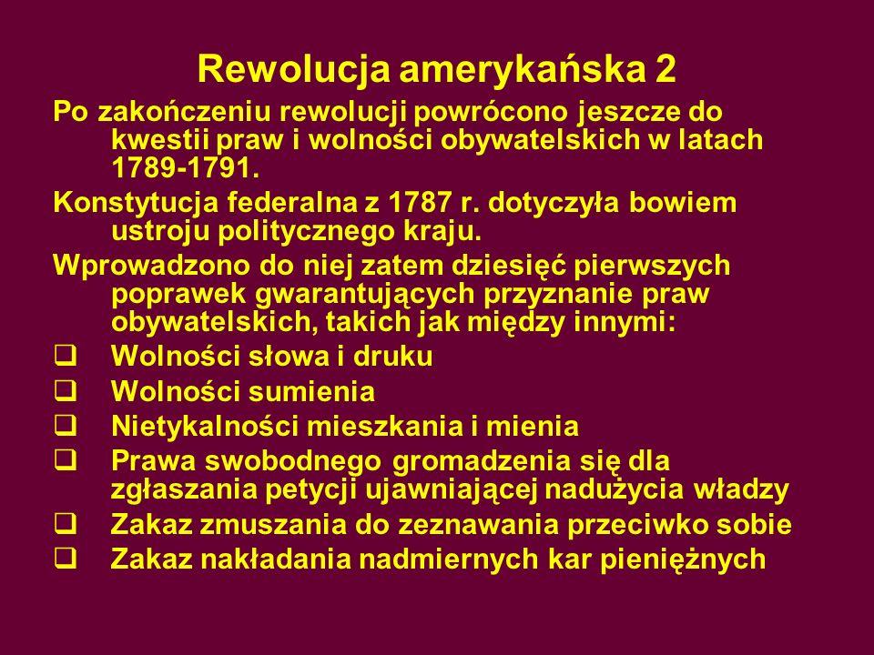 Rewolucja amerykańska 2