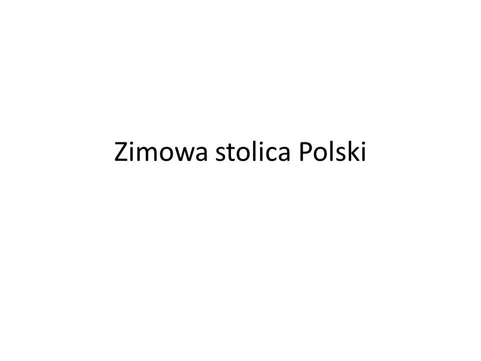 Zimowa stolica Polski