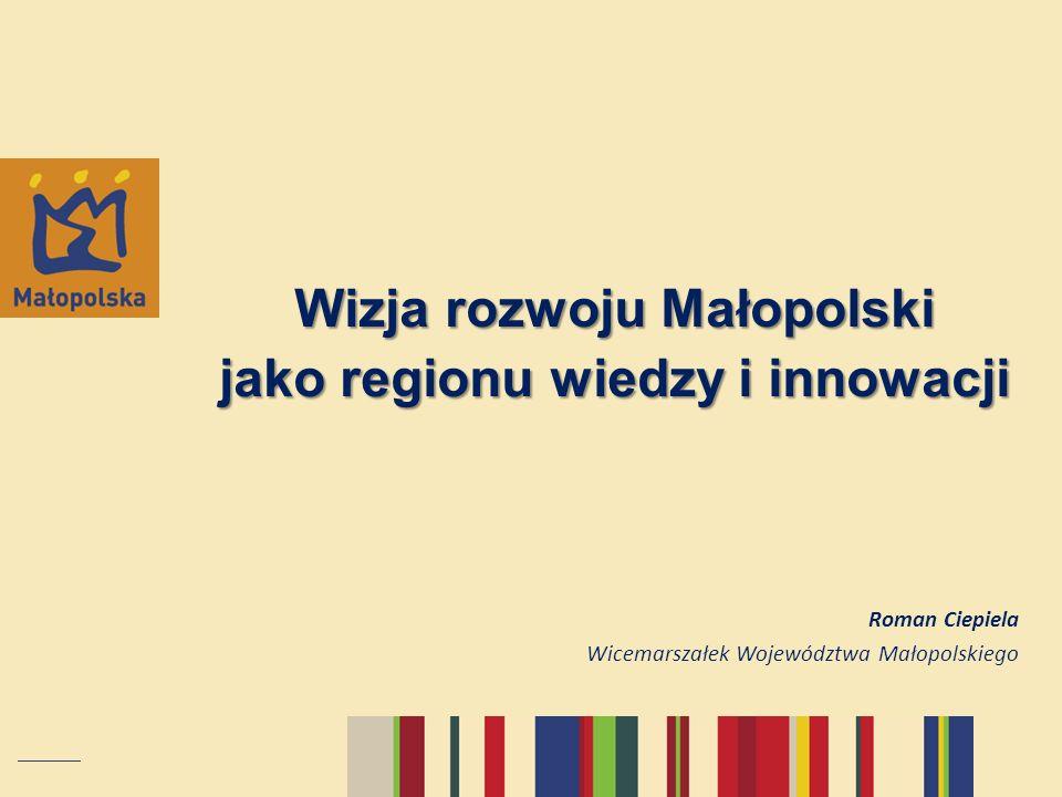 Wizja rozwoju Małopolski jako regionu wiedzy i innowacji