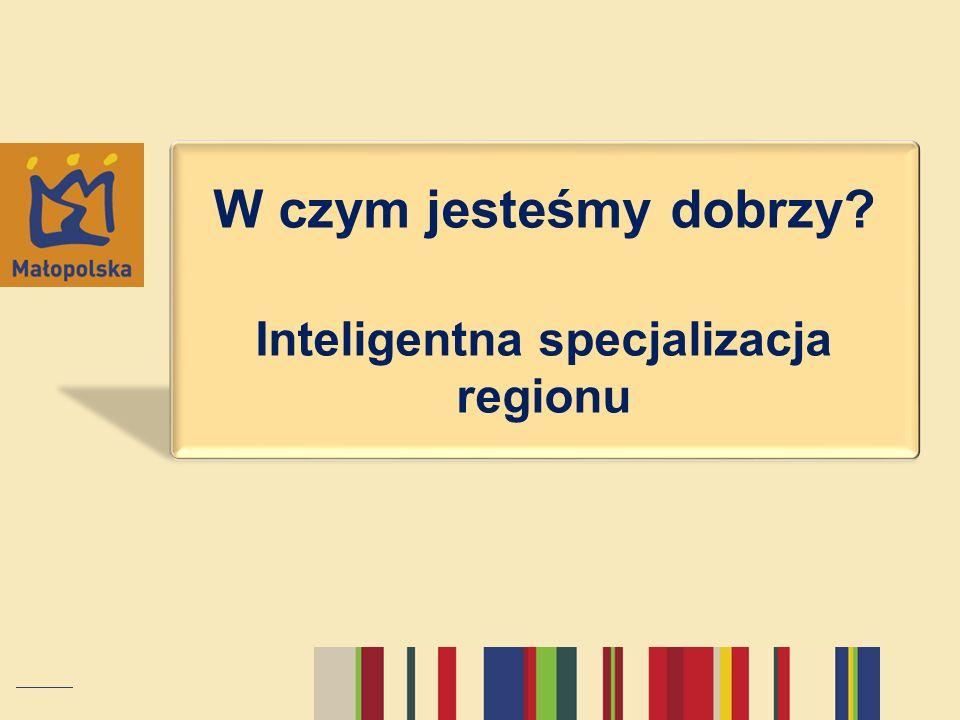 Inteligentna specjalizacja regionu