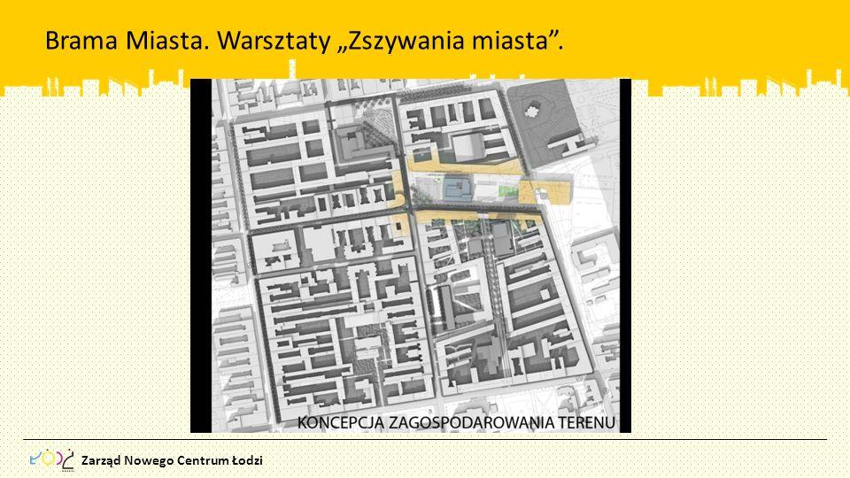 """Brama Miasta. Warsztaty """"Zszywania miasta ."""
