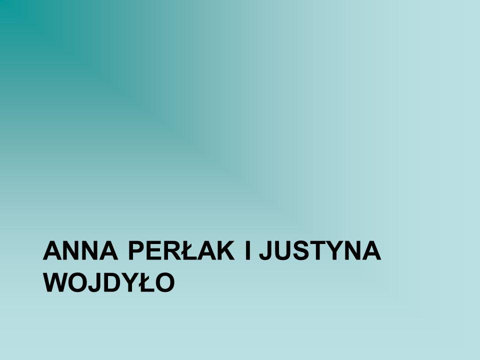 Anna perłak i justyna wojdyło