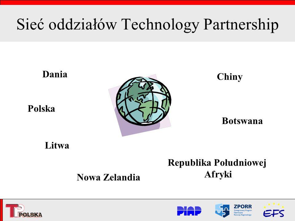 Sieć oddziałów Technology Partnership