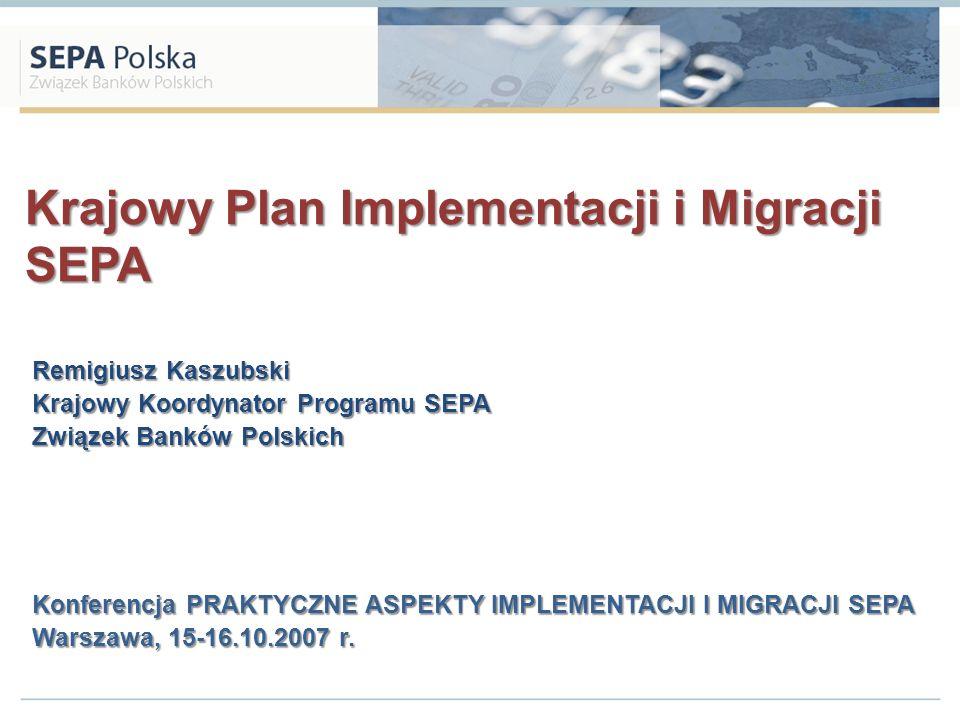 Krajowy Plan Implementacji i Migracji SEPA