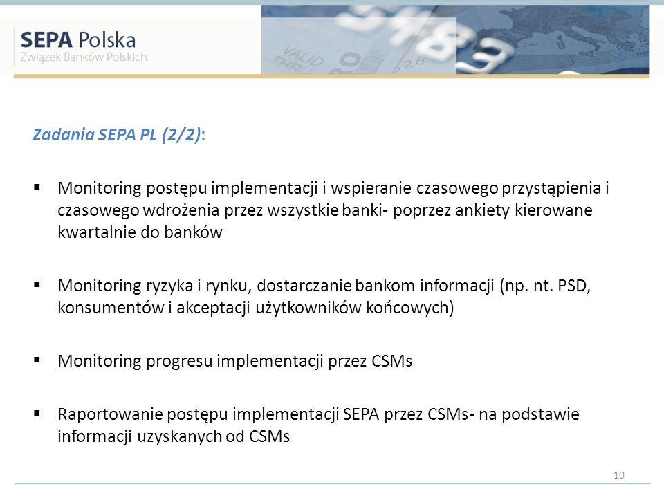 Zadania SEPA PL (2/2):
