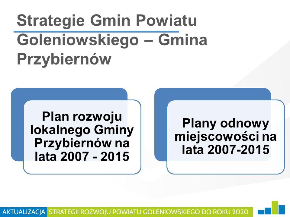 Strategie Gmin Powiatu Goleniowskiego – Gmina Przybiernów