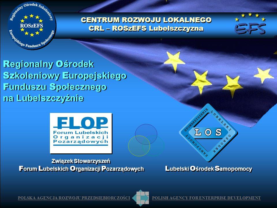 Szkoleniowy Europejskiego Funduszu Społecznego na Lubelszczyźnie