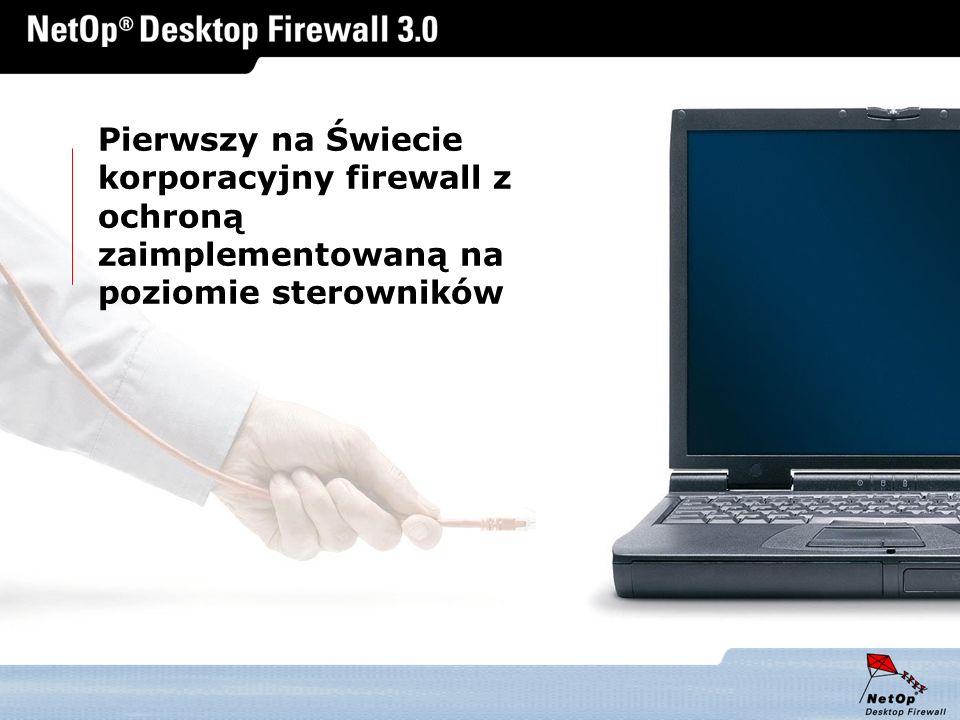 Pierwszy na Świecie korporacyjny firewall z ochroną zaimplementowaną na poziomie sterowników