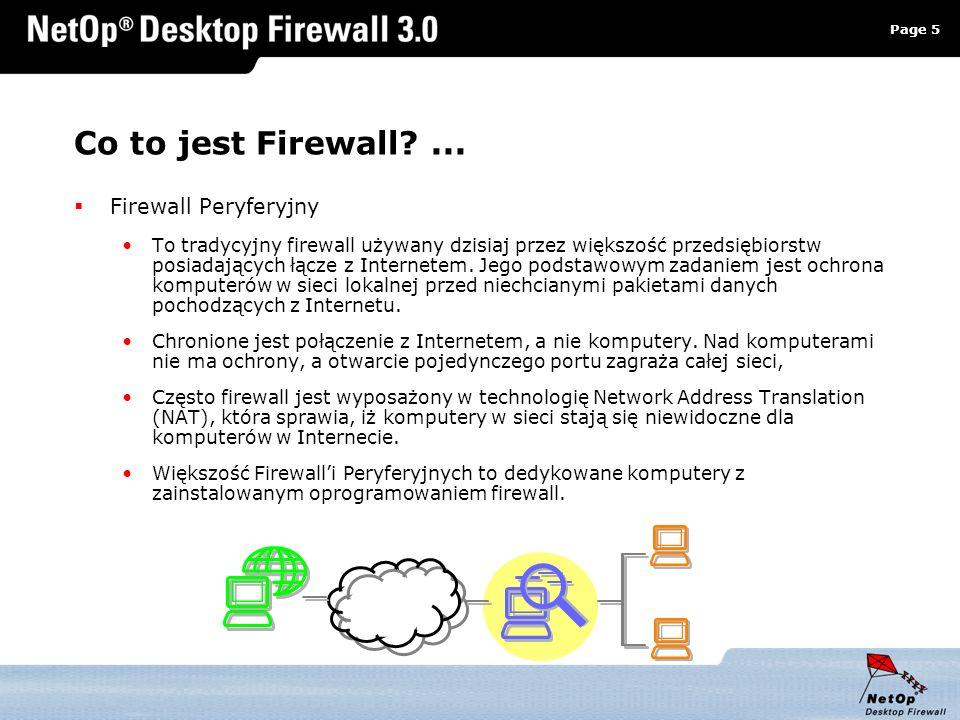 Co to jest Firewall ... Firewall Peryferyjny