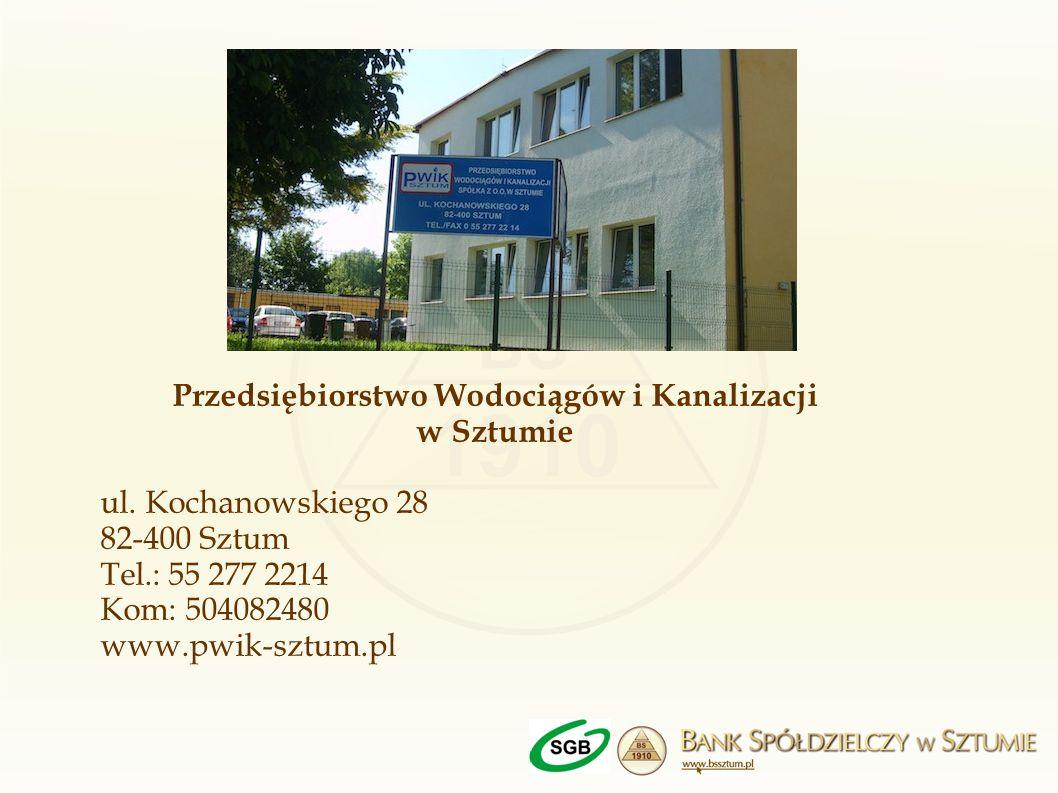 Przedsiębiorstwo Wodociągów i Kanalizacji