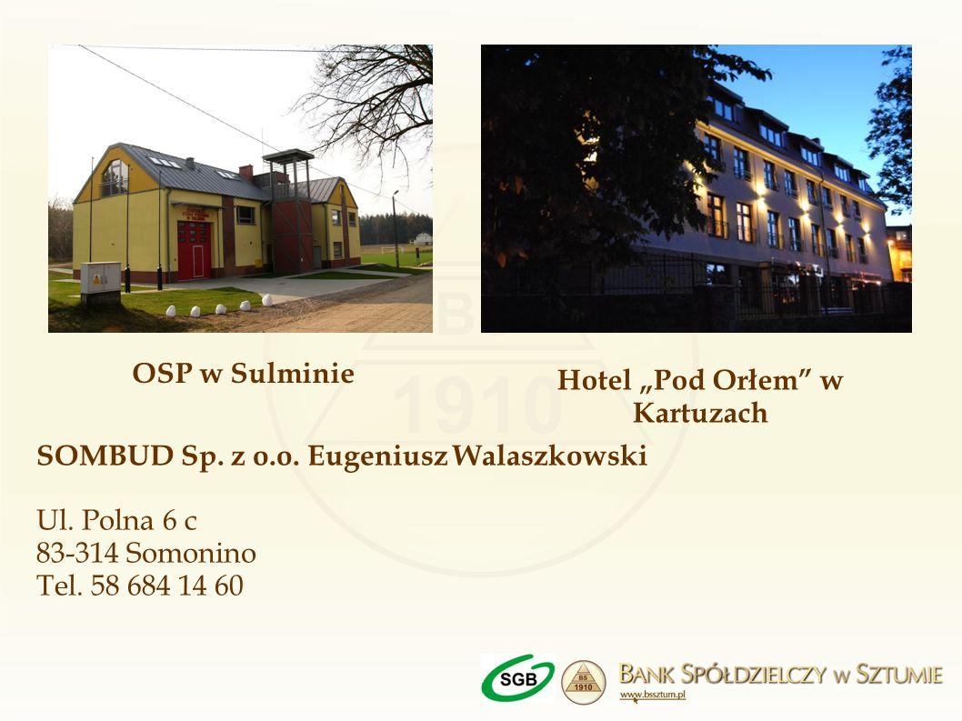 """Hotel """"Pod Orłem w Kartuzach"""