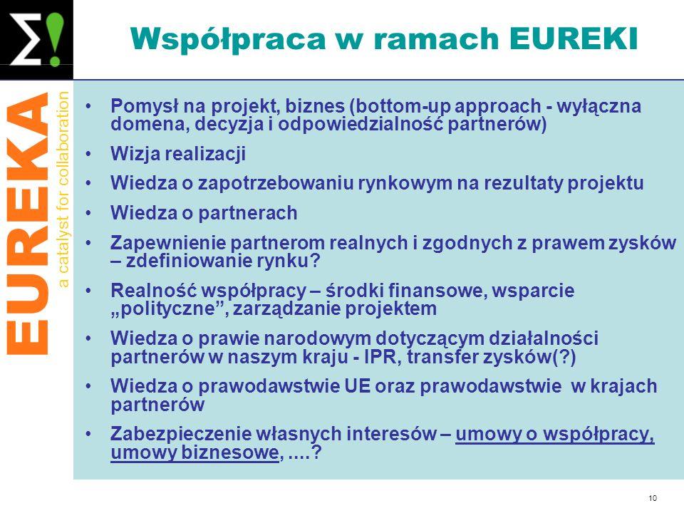 Współpraca w ramach EUREKI