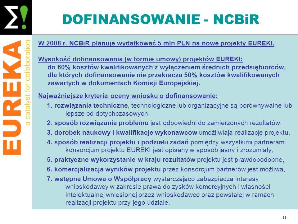 DOFINANSOWANIE - NCBiR