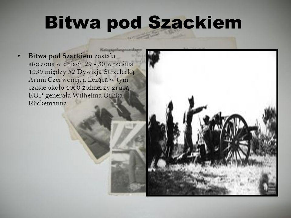 Bitwa pod Szackiem
