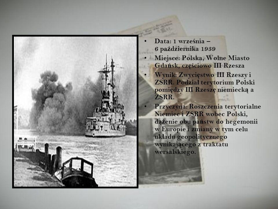 Data: 1 września – 6 października 1939