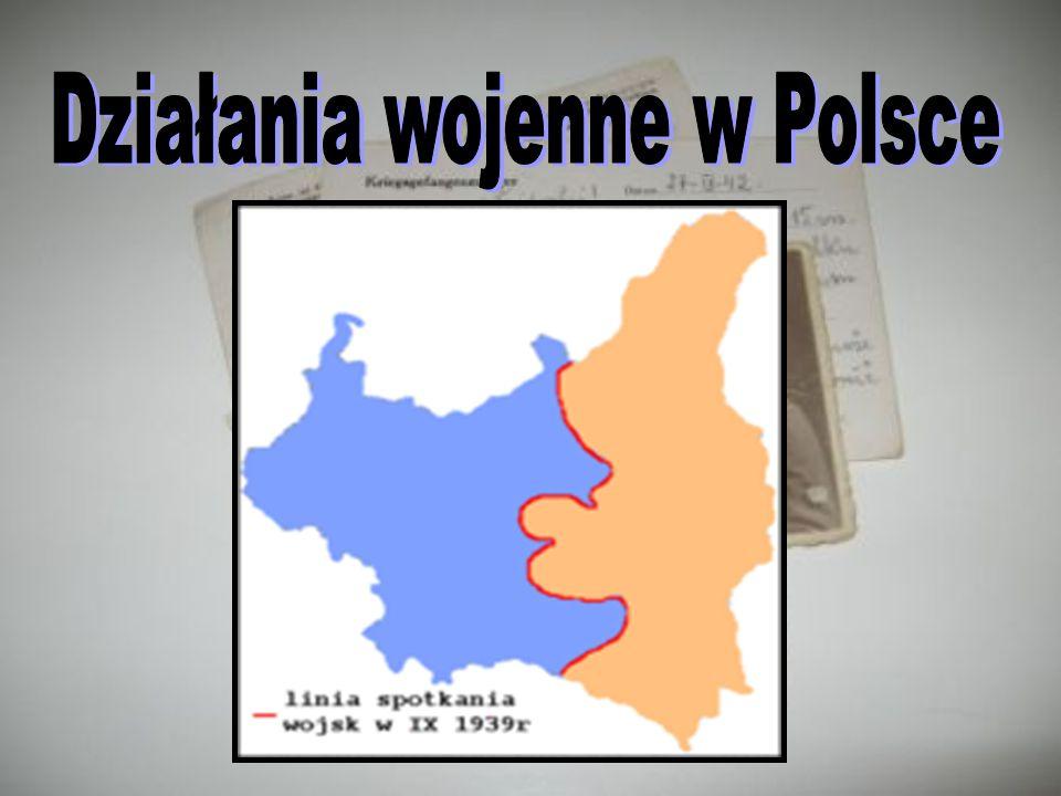 Działania wojenne w Polsce
