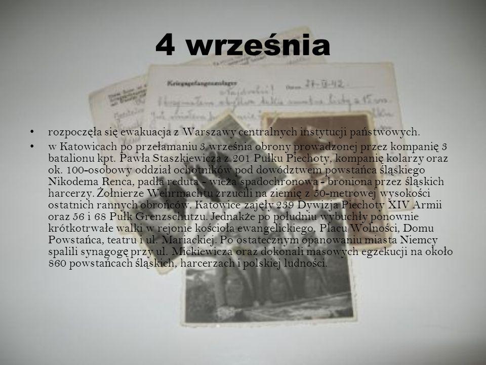 4 września rozpoczęła się ewakuacja z Warszawy centralnych instytucji państwowych.