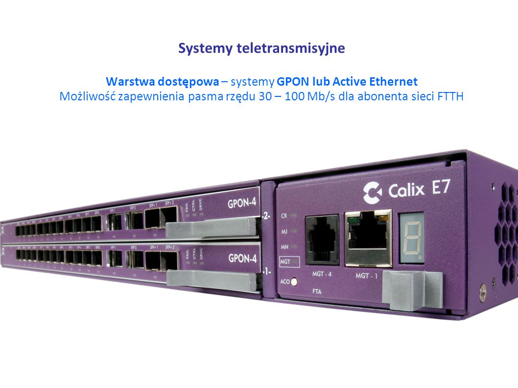 Systemy teletransmisyjne
