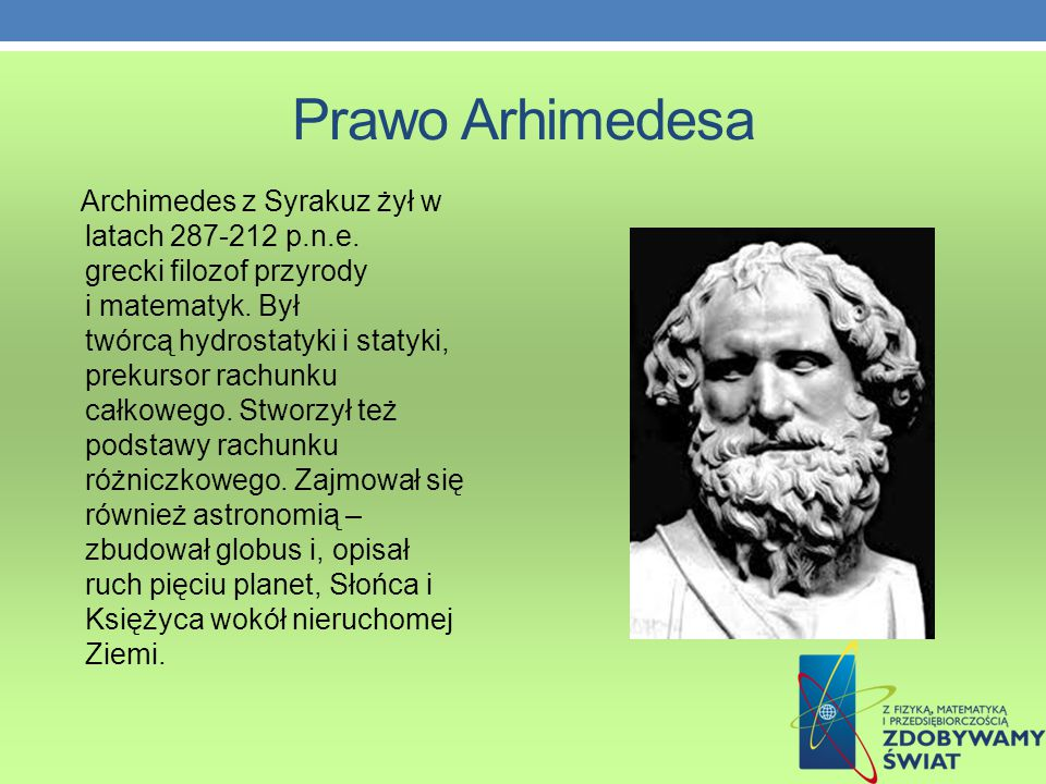 Prawo Arhimedesa