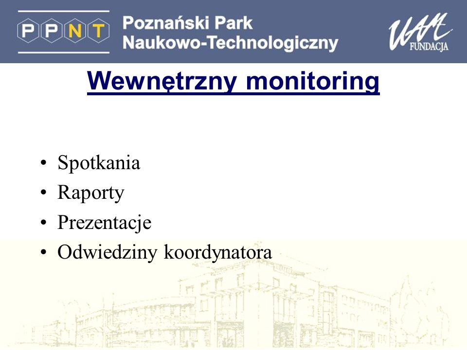 Wewnętrzny monitoring