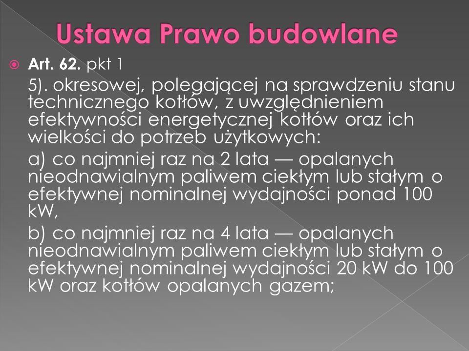 Ustawa Prawo budowlane