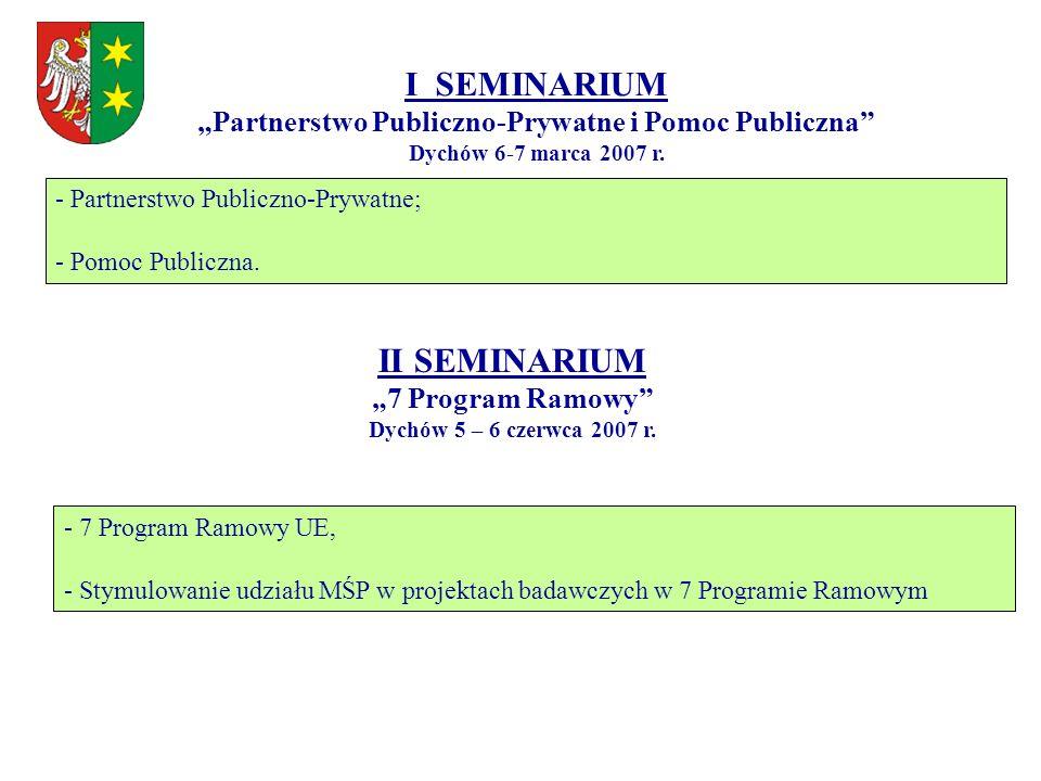 """""""Partnerstwo Publiczno-Prywatne i Pomoc Publiczna"""