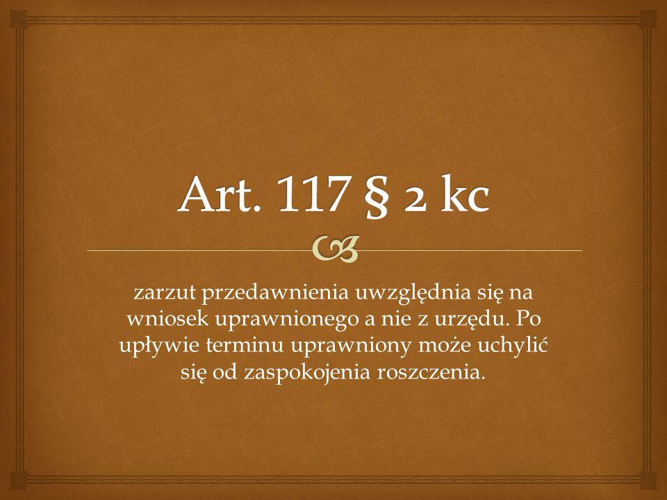 Art. 117 § 2 kc