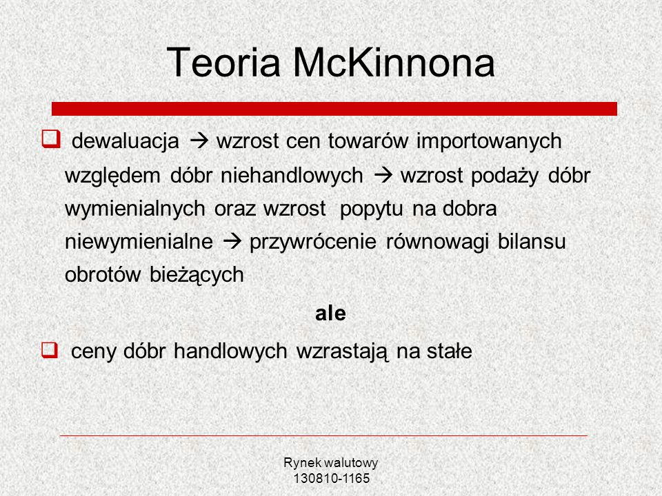 Teoria McKinnona