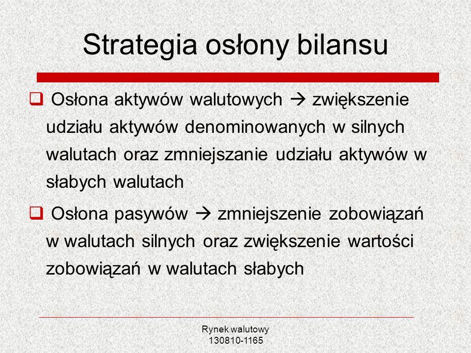 Strategia osłony bilansu