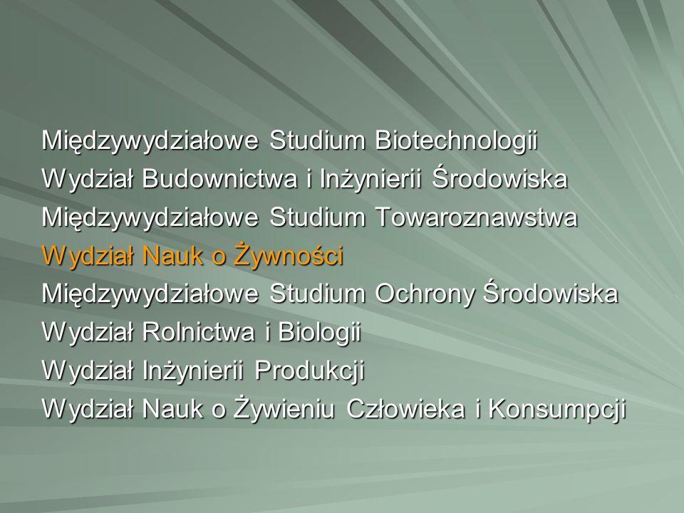 Międzywydziałowe Studium Biotechnologii