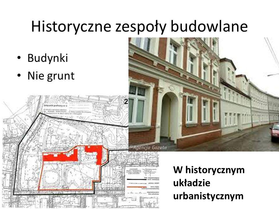 Historyczne zespoły budowlane