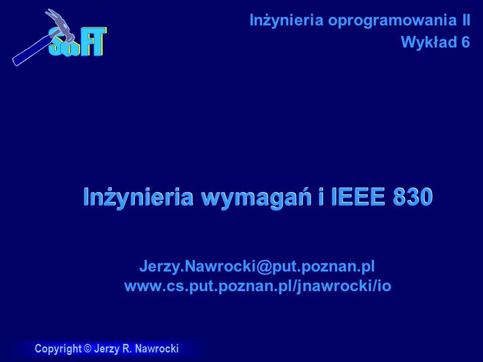 Inżynieria wymagań i IEEE 830