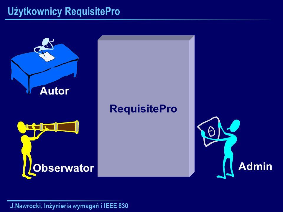 Użytkownicy RequisitePro